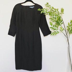 Antonio Melani Black Midi Dress